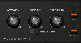 How to Make a Hip Hop Whine Synth in u-he Diva_06 - AMP Env