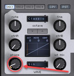 Oscillator Retrigger - Spire Oscillator Phase Reset