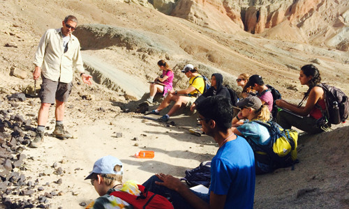 Ge 101 - Rainbow Basin Field Trip 2015