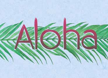 Aloha Font