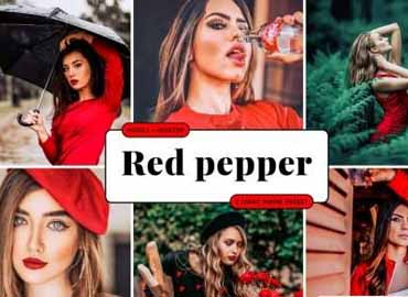 Red Pepper Lightroom Presets