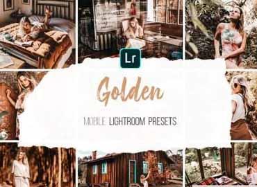 Mobile Lightroom Presets - Golden