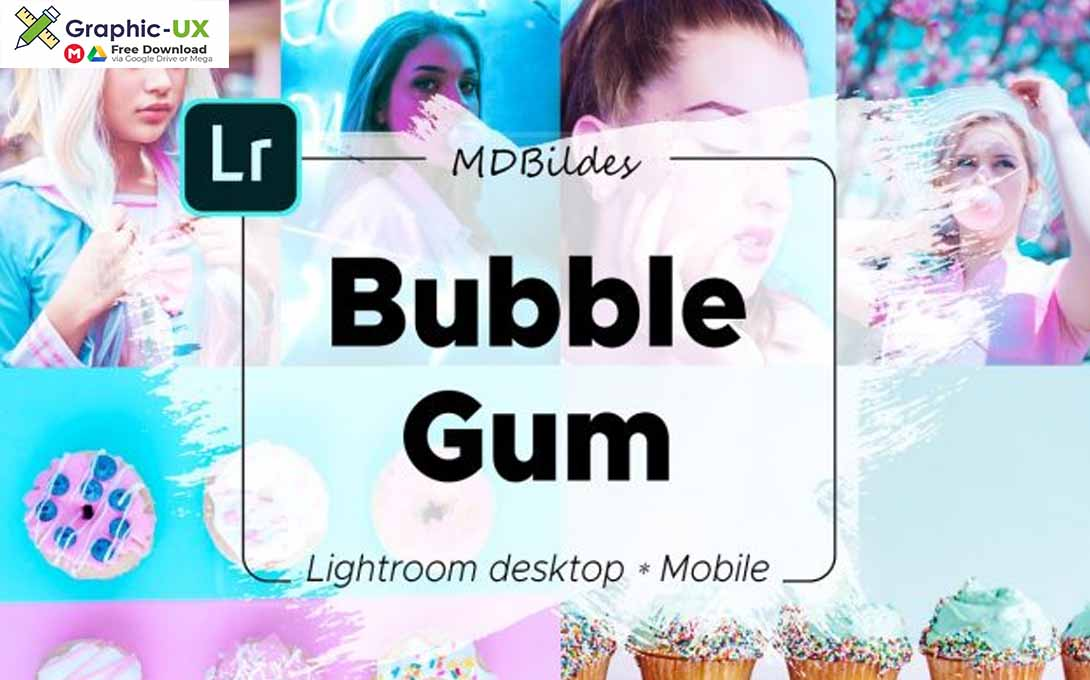 Lightroom Preset Bubble Gum Mobile