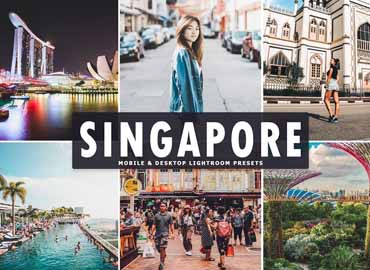 Singapore Lightroom Presets Pack