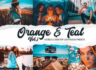 Orange & Teal Lightroom Presets Vol. 1