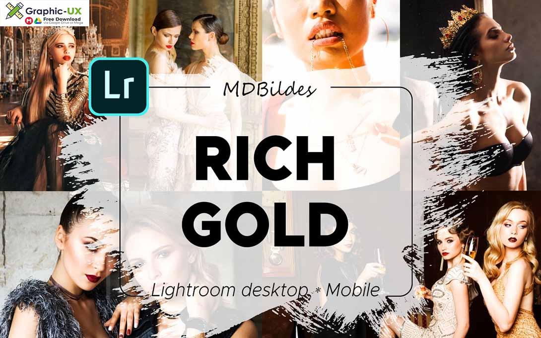 Lightroom Preset RICH GOLD Mobile