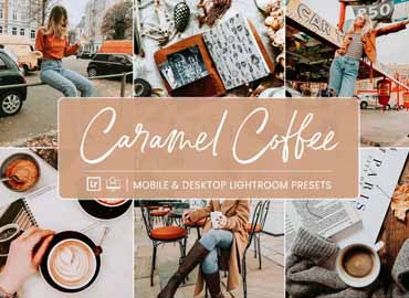 Lightroom Presets Caramal Coffee