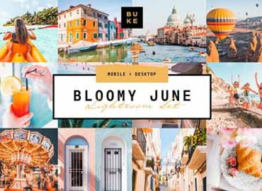 Bloomy June Lightroom Preset