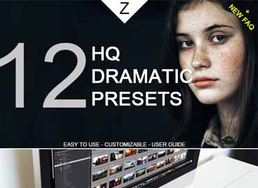 12 HQ Dramatic Lightroom Presets