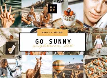 Go Sunny Lightroom Preset