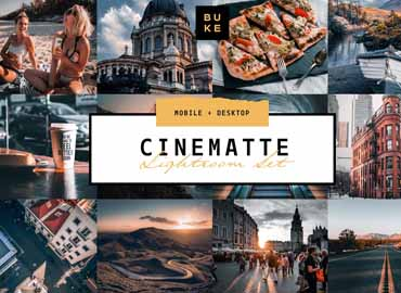 4 Cinematic Lightroom Presets Pack