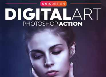 DigitalArt Photoshop Action