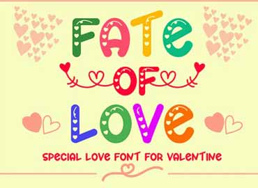Fate of Love Font