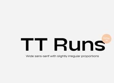 TT Runs Font