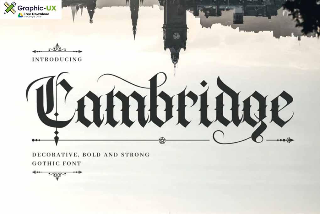Cambridge Font