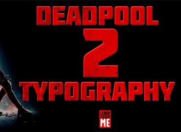 Deadpool Font
