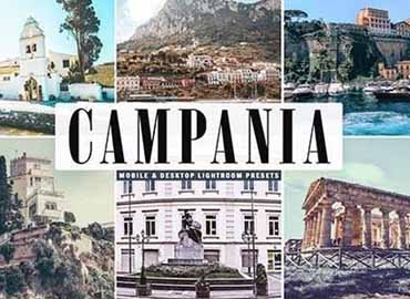 Campania Mobile & Desktop Lightroom Presets
