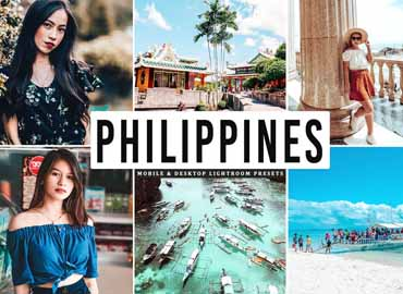 Philippines Mobile & Desktop Lightroom Presets