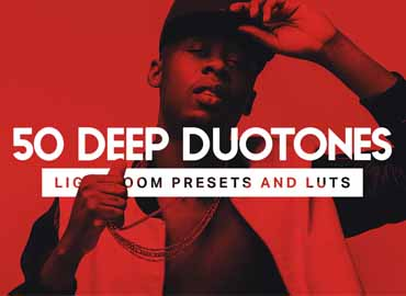 50 Deep Duotone Lightroom Presets