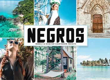 Negros Mobile & Desktop Lightroom Presets