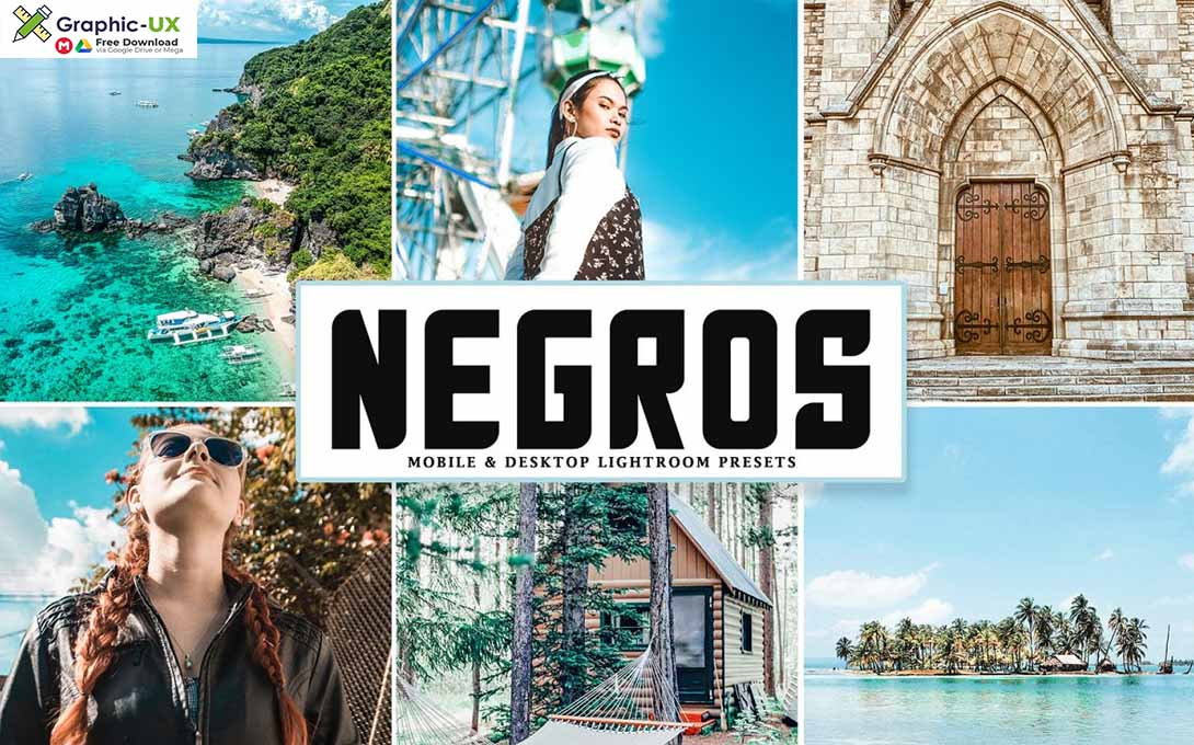 Negros Mobile & Desktop Lightroom Presets