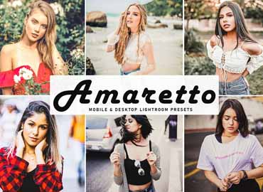 Amaretto Mobile & Desktop Lightroom Presets