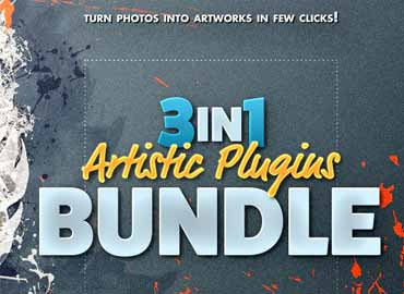 3in1 Artistic Plugins Bundle for Photoshop