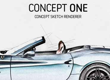 Concept One - Concept Sketch Renderer Action