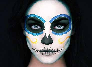Catrina Skull Photoshop Action