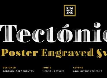 Tectonica Font Family