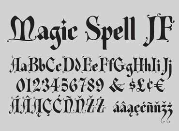 Magic Spell Font