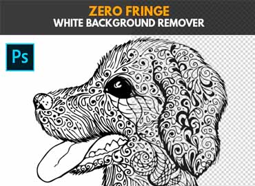 Zero Fringe White Background Remover - Photoshop Action