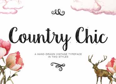 Country Chic Font