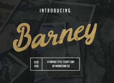 Barney Font
