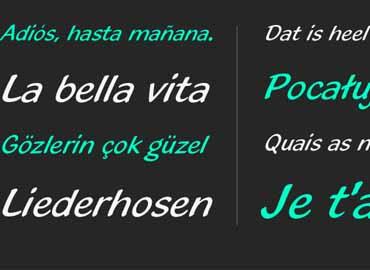 Blacklight Font