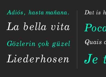 Boldface Font