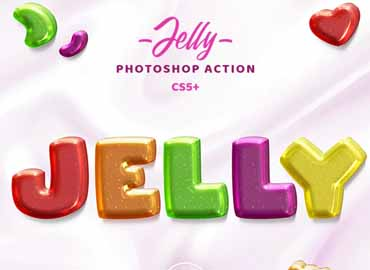 Jelly Photoshop Action
