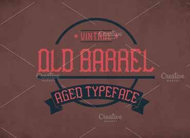 Old Barrel Font