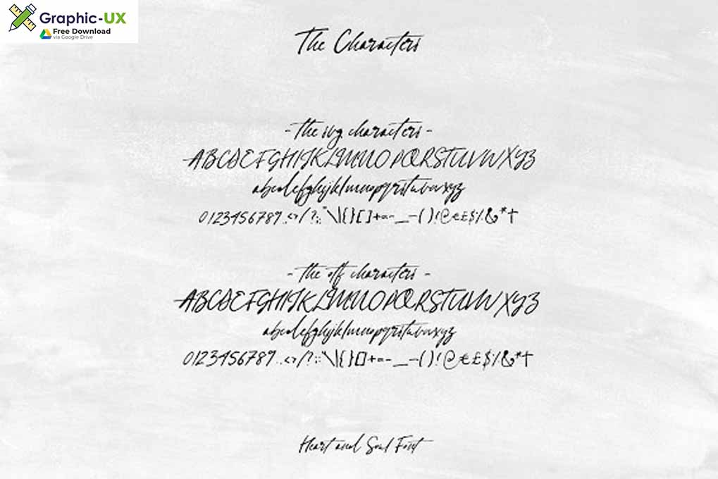 heart and soul font