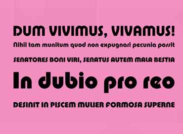 Pump Font