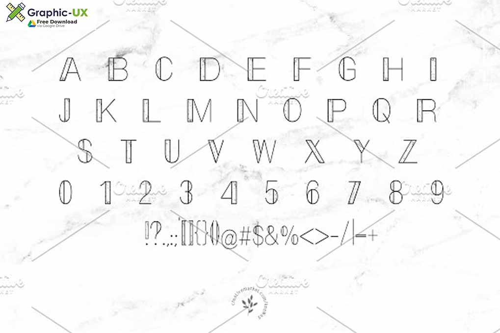 Marble Font