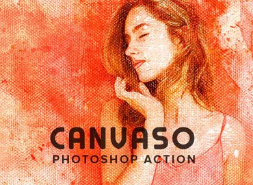 Canvaso Photoshop Action