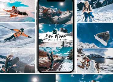 Ski Mood Presets For Mobile and Desktop Lightroom