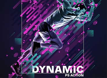 Dynamic Photoshop Action