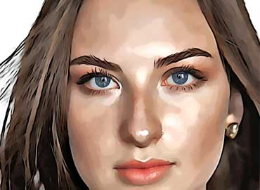 Vector Portrait Photoshop Effect