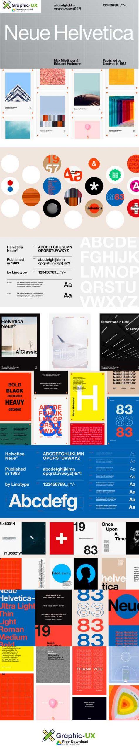 Neue Helvetica Font