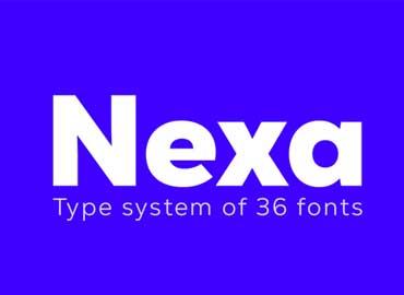 Nexa Font