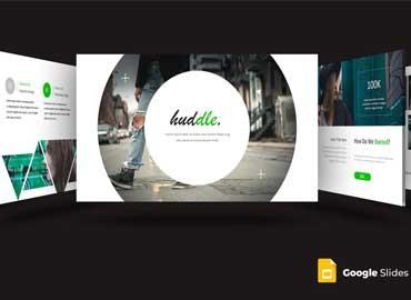 Huddle - Google Slides Template