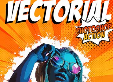 Vectorial Photoshop Action