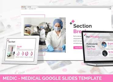Urban - Medic Google Slides Template